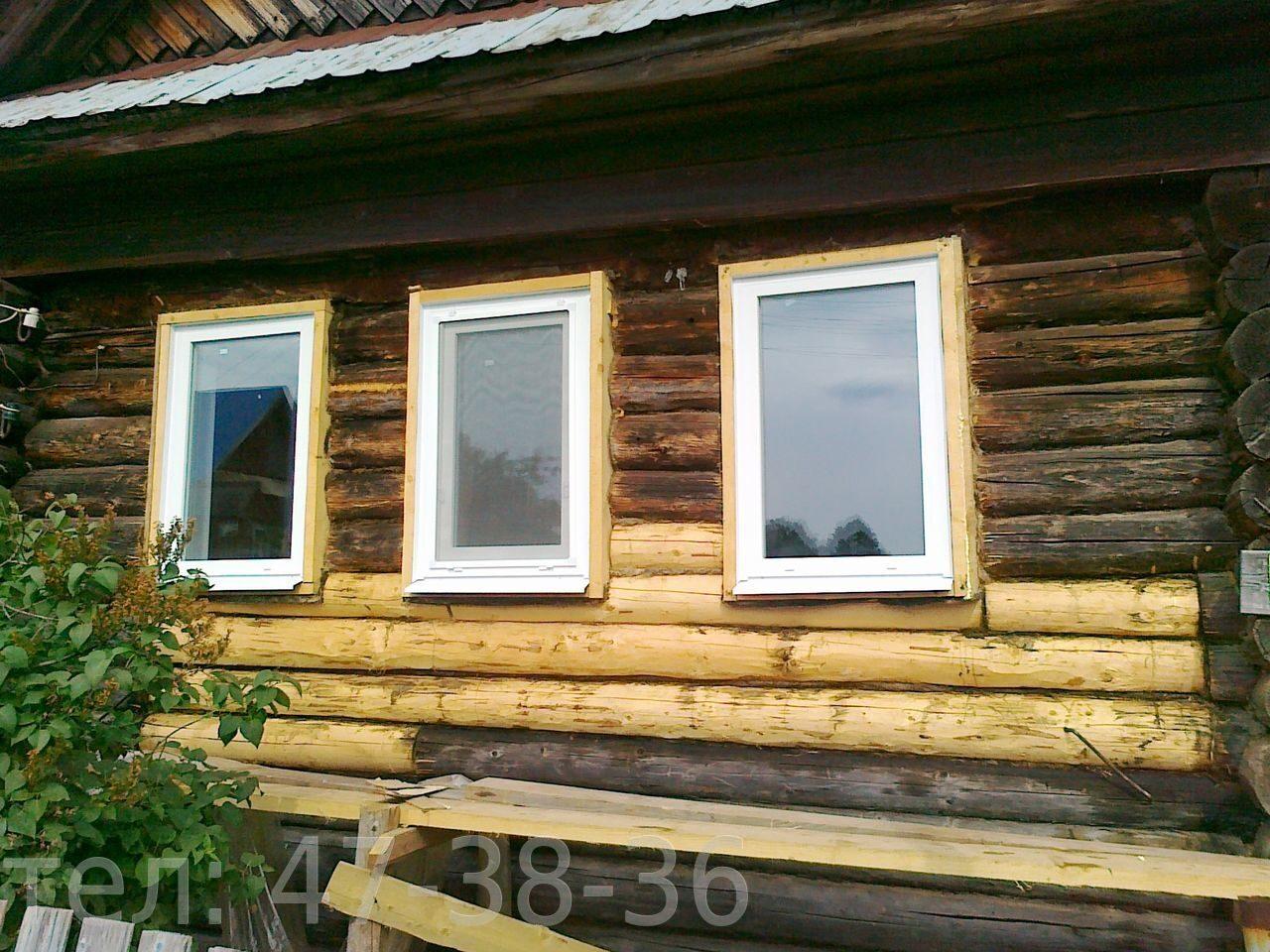 Замена окон в деревянном доме на пластиковые своими руками
